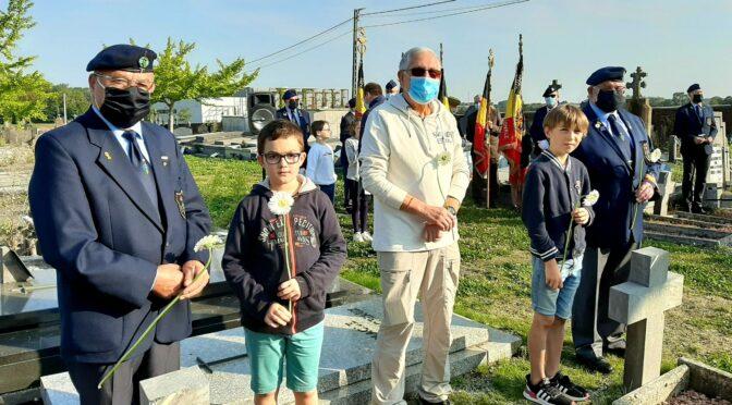 Opération en faveur des soldats oubliés de l'histoire à Namur