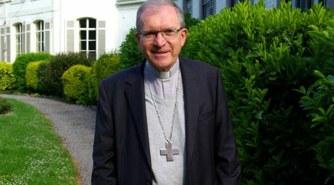 L'évêque de Namur, positif au covid-19, annule la messe chrismale