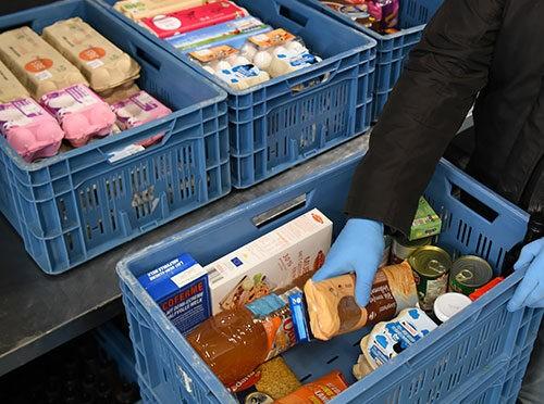Solidarithèque: une épicerie solidaire pour étudiants dans le besoin