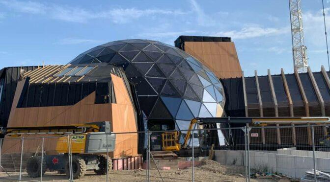 Le pavillon numérique ouvrira au public le 5 novembre à la Citadelle