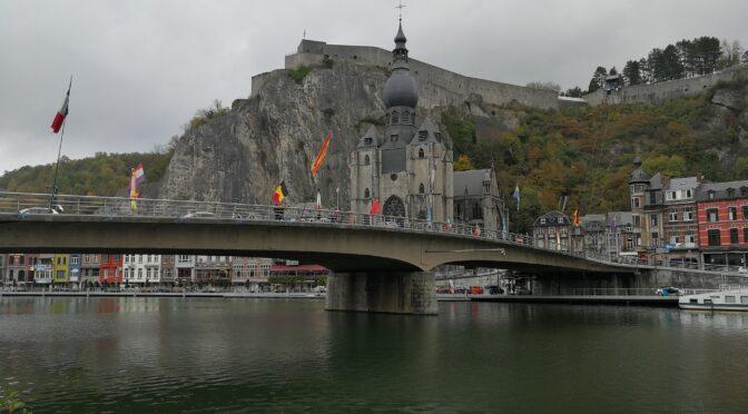 La Meuse va baisser d'un mètre à Dinant pour un convoi exceptionnel