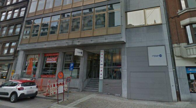 Le bâtiment de la RTBF rue Golenvaux depuis 50 ans mis en vente par la province