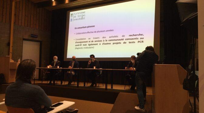 Un consortium namurois propose de doper le testing  avec des résultats en 24h